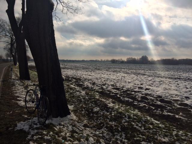 Winter auf der Hausrunde.